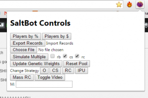 controls screen